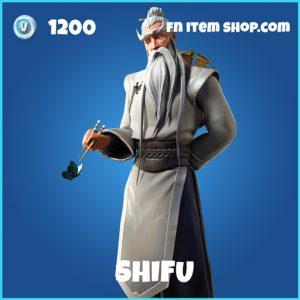 Shifu rare fortnite skin