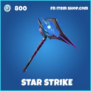 Star Strike rare fortnite pickaxe