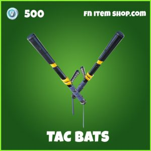 Tac Bats uncommon fortnite pickaxe