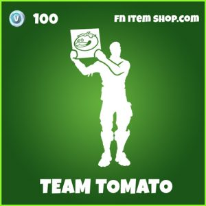 Team Tomato uncommon emote