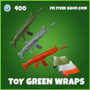 Toy Green fortnite wraps