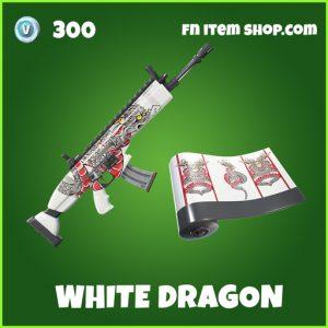 white dragon uncommon fortnite wrap