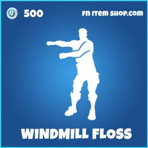 Windmill floss rare fortnite emote