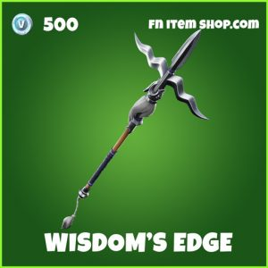 Wisdoms Widom's edge uncommon fortnite pickaxe
