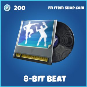 8-Bit 8bit Beat rare fortnite music pack