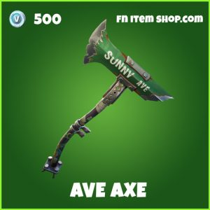 Ave Axe uncommon fortnite pickaxe