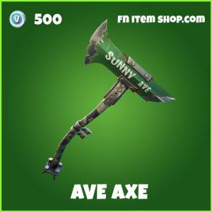 Ave Axe uncommon fortnite pickaxe