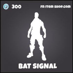 Bat Signal DC Batman fortnite emote