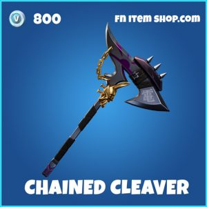 Chained Cleaver rare fortnite pickaxe
