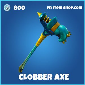 Clobber Axe rare fortnite pickaxe