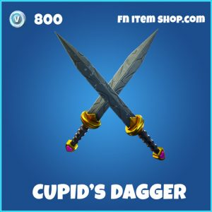 Cupid's Dagger rare fortnite pickaxe