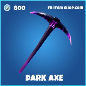 Dark Axe rare fortnite pickaxe