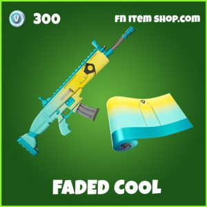 Faded Cool uncommon fortnite wrap