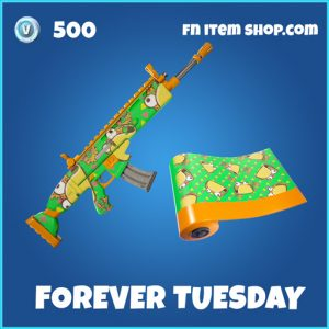 Forever Tuesday rare fortnite wrap