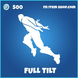 Full tilt rare fortnite emote