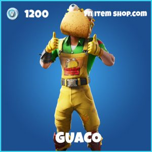Guaco rare fortnite skin