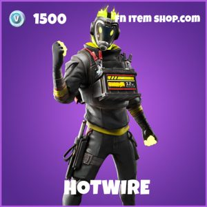 Hotwire epic fortnite skin