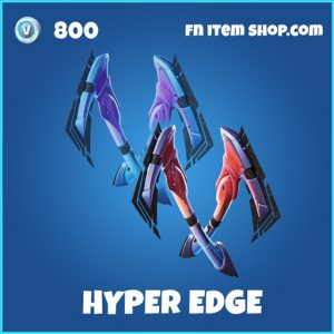 Hyper edge rare fortnite pickaxe