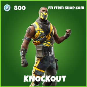 Knockout uncommon fortnite skin