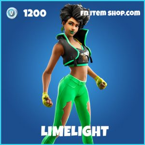 Limelight rare fortnite skin