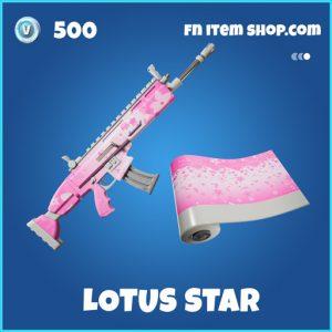 Lotus Star rare fortnite wrap