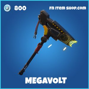 Megavolt rare fortnite pickaxe