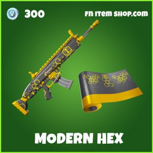 Modern Hex uncommon fortnite wrap
