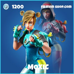 Moxic rare fortnite skin