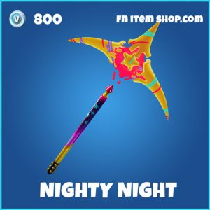 Nighty Night rare fortnite pickaxe