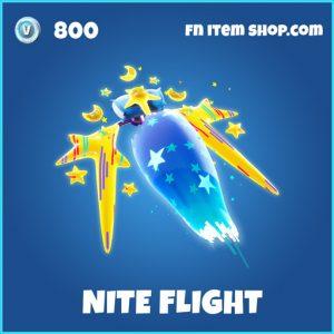 Nite Flight rare fortnite glider