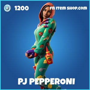 PJ Pepperoni rare fortnite skin