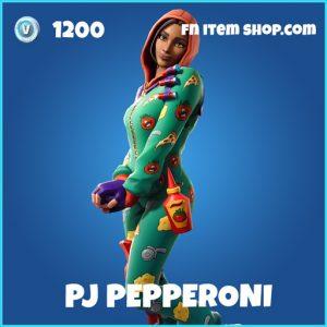 PJ Pepperoni rare fortnite skin