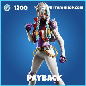 Payback rare fortnite skin