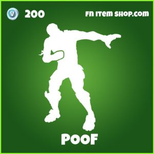 Poof uncommon fortnite emote