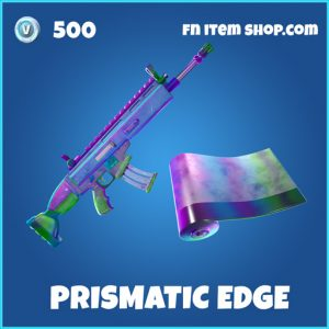 Prismatic Edge rare fortnite wrap