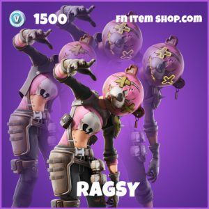 Ragsy epic fortnite skin