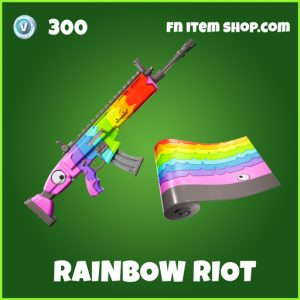 Rainbow Riot uncommon fortnite wrap