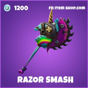 Razor Smash epic fortnite pickaxe