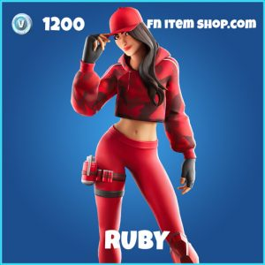 Ruby rare fortnite skin