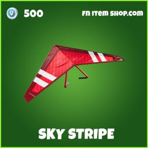 Sky Stripe uncommon fortnite glider