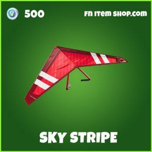 Sky Stripe uncommon fortnite glider