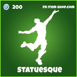 Statuesque uncommon fortnite emote