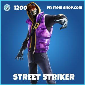 Street Striker rare fortnite skin