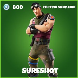 Sureshot uncommon fortnite skin
