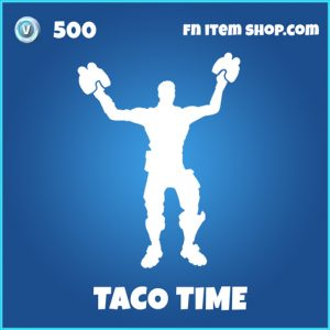 Taco Time rare fortnite emote