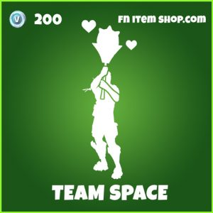 Team Space uncommon fortnite emote