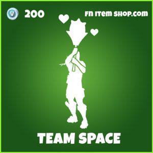 Team Space uncommon fortnite emote