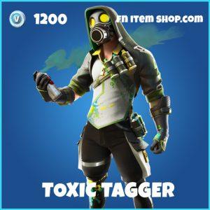 Toxic Tagger rare fortnite skin