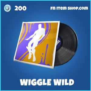 Wiggle Wild rare music fortnite