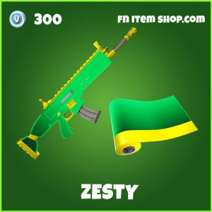 Zesty uncommon fortnite wrap